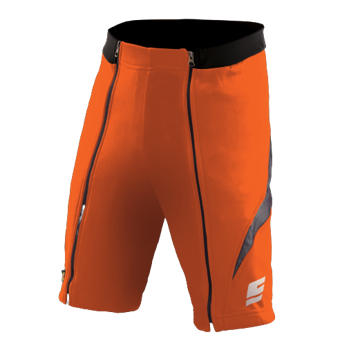 Shorts ENERGIAPURA NEW WENGEN BICOLOR ORANGE/BLACK - 2021/22