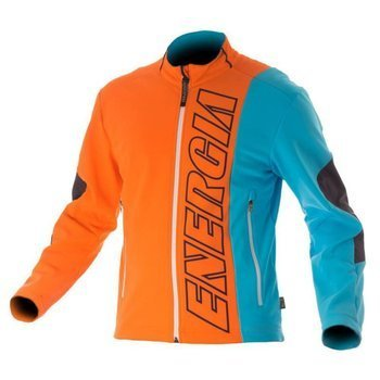 Softshell ENERGIAPURA CORTINA ORANGE/TURQUOISE JUNIOR